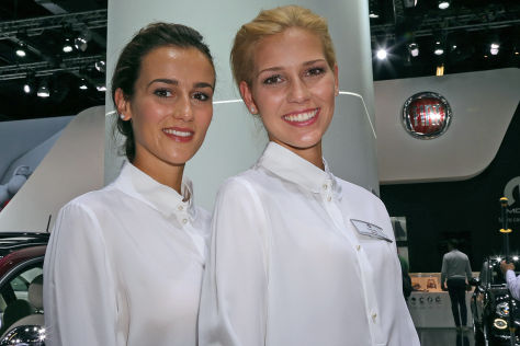IAA 2015: Hostessen