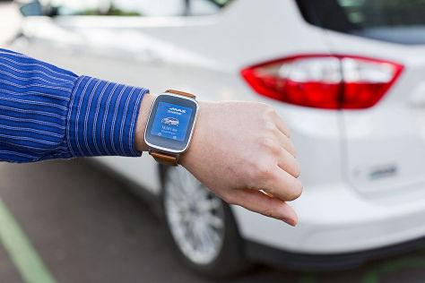 Ford: App auch für Smartwatch