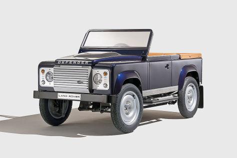 Land Rover Defender als Tretauto: IAA 2015