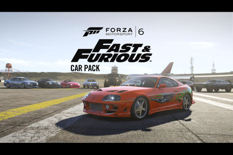 Forza Motorsport 6 mit Fast and Furious Carpack