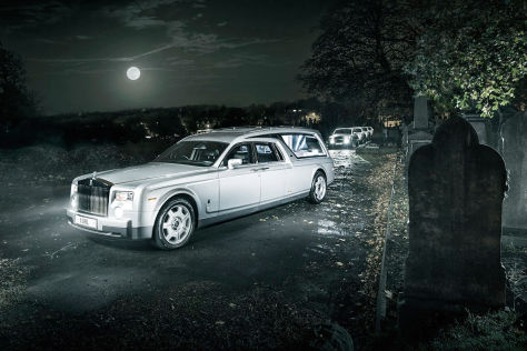 Reportage: Bestatter mit Rolls-Royce-Flotte