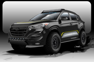 Hyundai Tucson SEMA 2015: Vorstellung