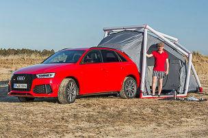 Audi RS Q3 als Camper: Fahrbericht