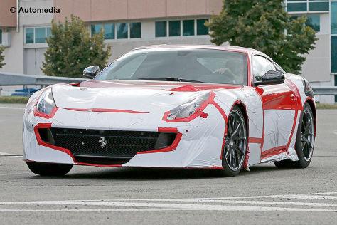 Ferrari F12 GTO/Speciale (2016): Erlkönig