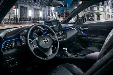 Toyota C-HR (2016): Erlkönig