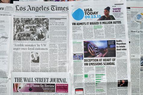 VW-Skandal: Pressestimmen