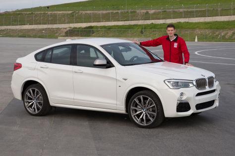 BMW X4 M40i (2015): Sitzprobe
