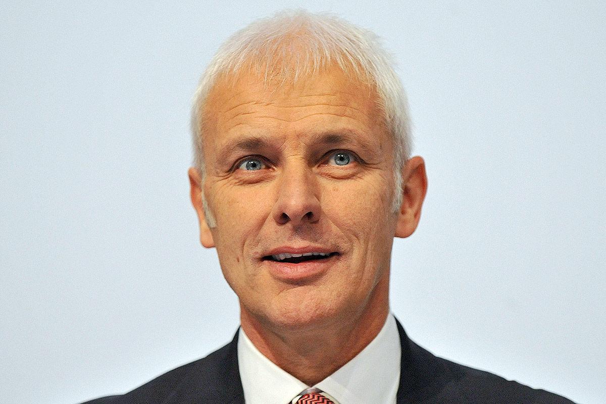 Das ist VW-Chef Matthias Müller .