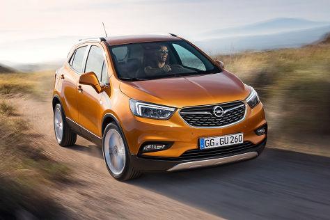 Opel Mokka FL (2016): Erlkönig
