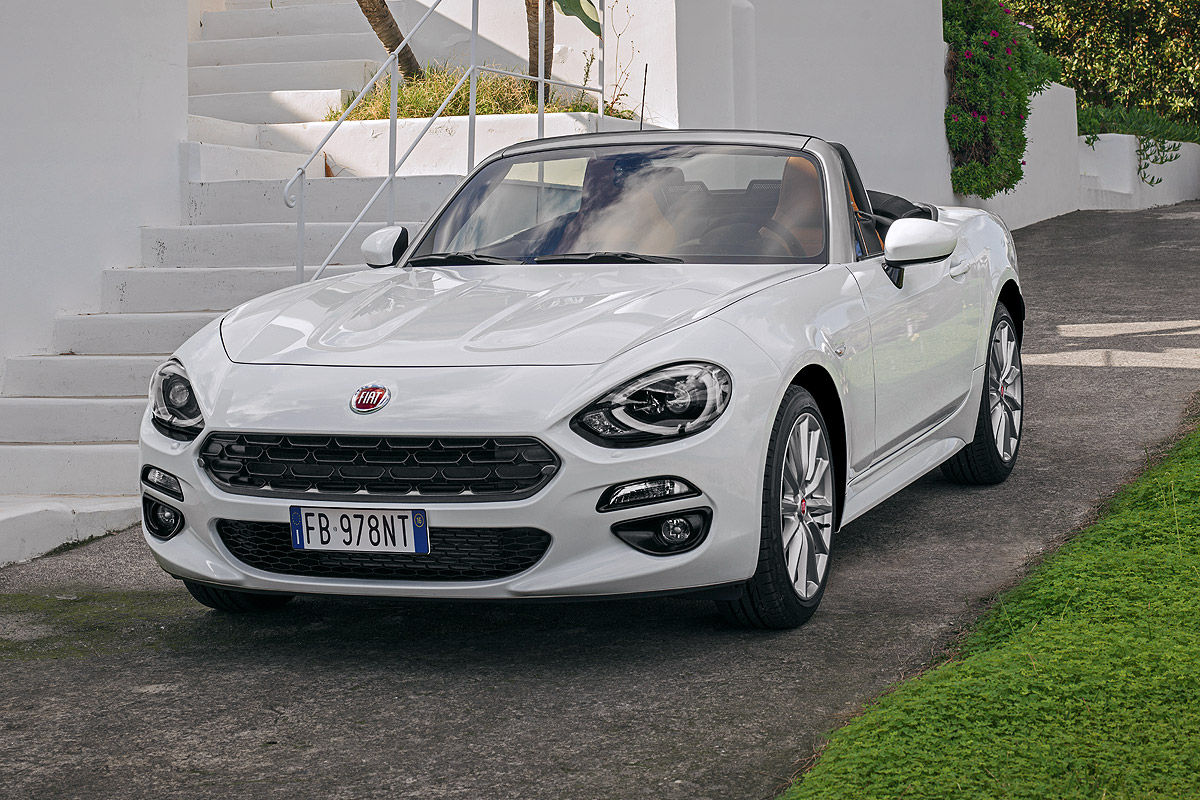 fiat 124 spider 2016 preise bilder. Black Bedroom Furniture Sets. Home Design Ideas
