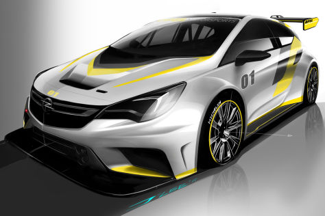 Opel Astra TCR Rennwagen (2015): Vorstellung