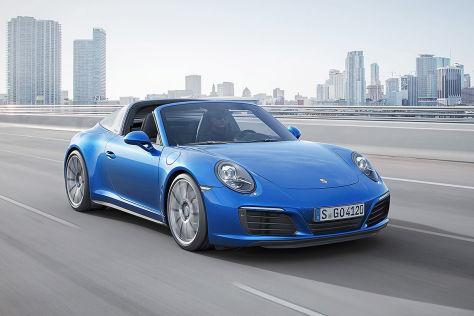 Porsche 911 Targa 4 / 4 S: Tokyo Motor Show