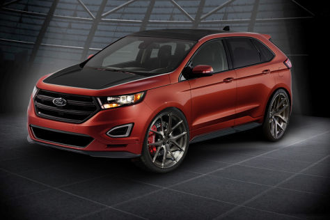 Ford Edge Sport Sema 2015 Vorstellung Autobild De