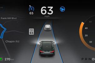 Update f�r Tesla Model S
