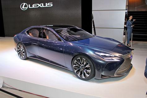 Lexus LS: Tokyo Motor Show 2015