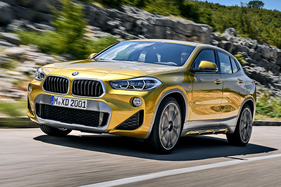 BMW X2 Illustration