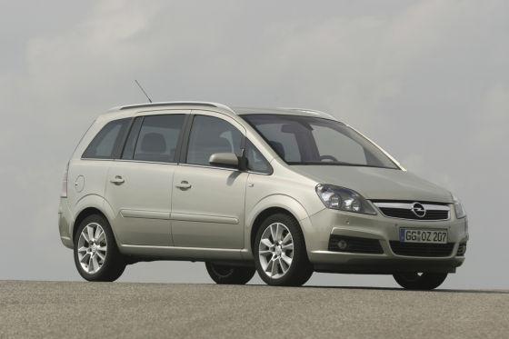 Das ist der geliftete Opel Zafira