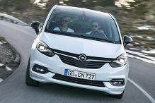 Das kostet der geliftete Opel Zafira