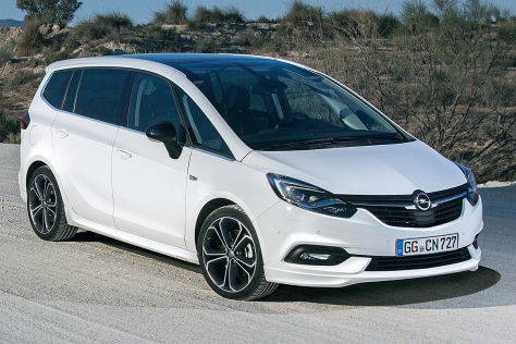 Opel Zafira Illustration