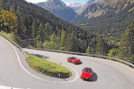 Von Bormio nach St. Moritz