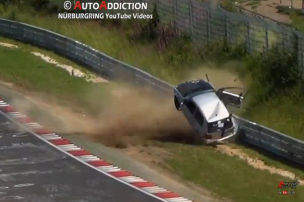 Crash am Ring