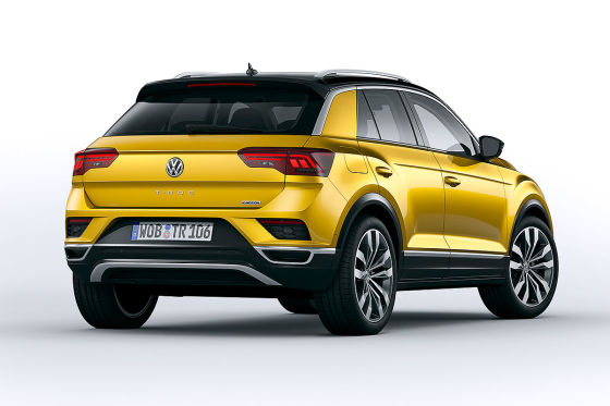 vw t roc 2017 test r line farben kofferraum. Black Bedroom Furniture Sets. Home Design Ideas