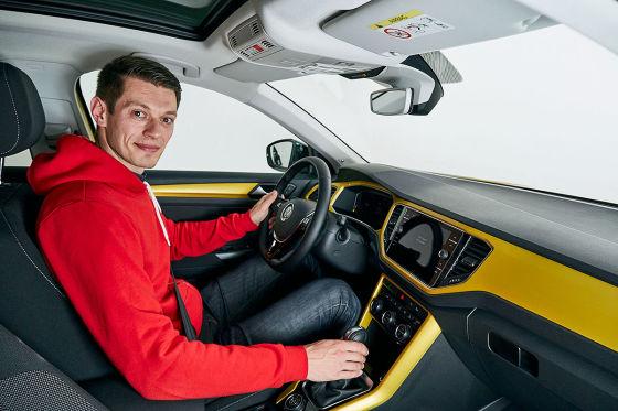 VW T-Roc klar zur Premiere