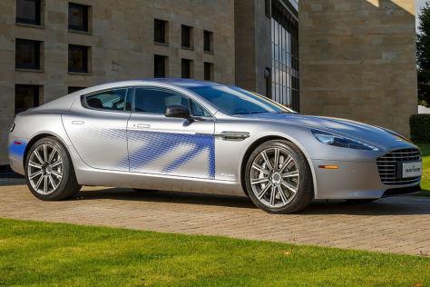 Aston Martin RapidE Concept (2015): Vorstellung