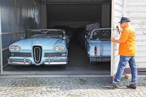 Beziehungskiste: Günter Schiele und seine Edsel