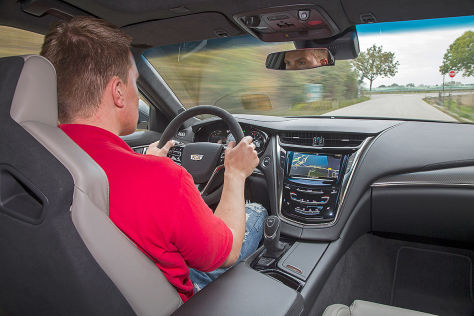 Cadillac CTS-V EU-Version (2015) im Test: Fahrbericht
