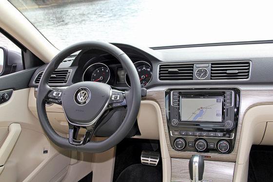 VW Passat (US-Version, Facelift 2015): Fahrbericht