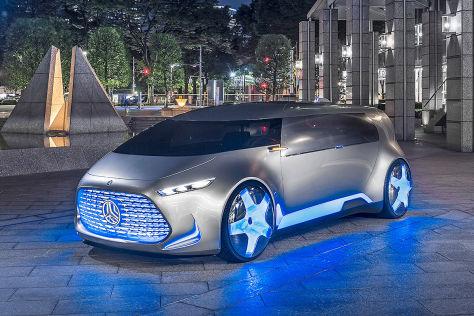 Mercedes Vision Tokyo: Tokyo Motor Show 2015 - autobild.de