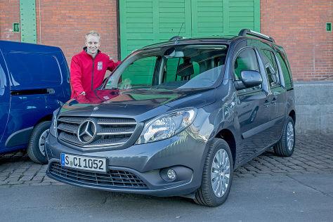 Mercedes Citan (2015) im Test: Fahrbericht, Marktstart