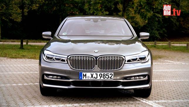 Video BMW 750i Im Vergleich 2015