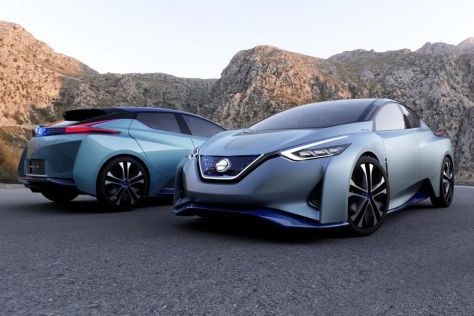 Nissan IDS Concept: Tokyo Motor Show 2015
