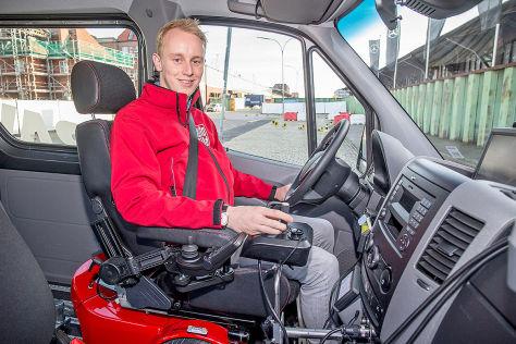 Mercedes Sprinter mit Paravan-Umbau: Fahrbericht