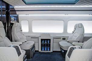 Sprinter-Umbau f�r 320.000 Euro