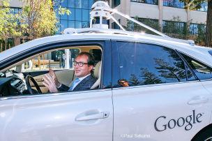 Dobrindt testet Google-Car
