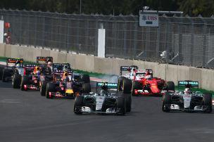 Rosberg gewinnt in Mexiko