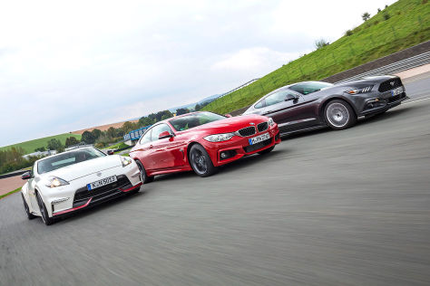 BMW 4er Ford Mustang Nissan 370Z