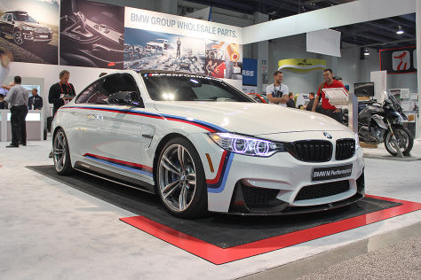 Tuning-Messe SEMA 2015: BMW