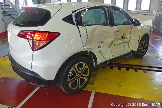 Euro NCAP-Crashtest 2015