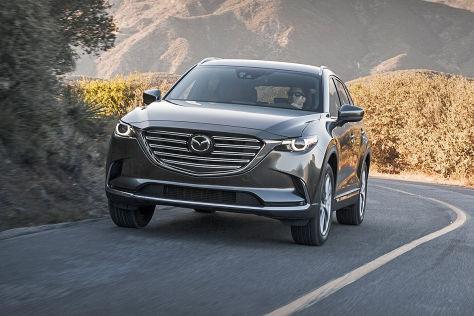 Mazda CX-9: LA Auto Show 2015