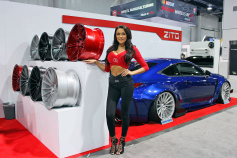 Tuning-Messe SEMA 2015: Hostessen
