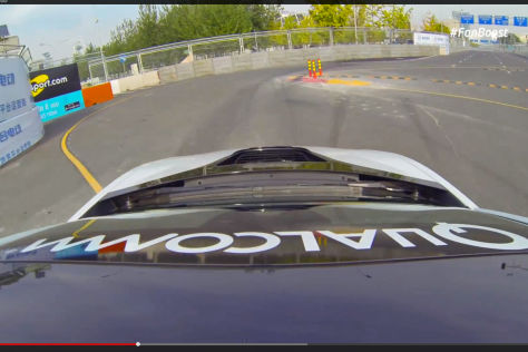 BMW i8 Formel E Safety Car: GoPro-Video