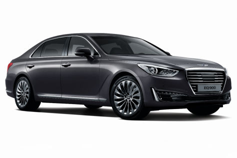 Hyundai Genesis G90 (2016): Vorschau
