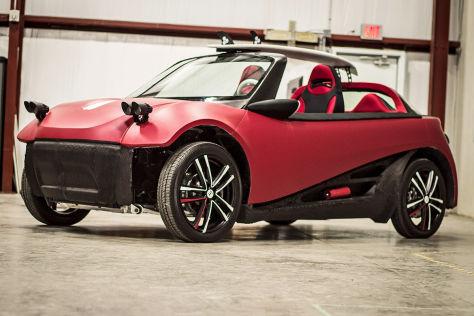 Local Motors LM3D Swim (SEMA 2015): Auto aus dem 3D-Drucker