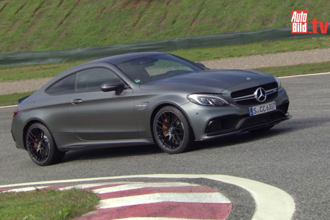 video mercedes amg c 63 s coup. Black Bedroom Furniture Sets. Home Design Ideas