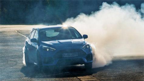 Ford Focus RS im Test: erste Mitfahrt