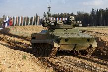 Russen arbeiten an Panzer-Drohne